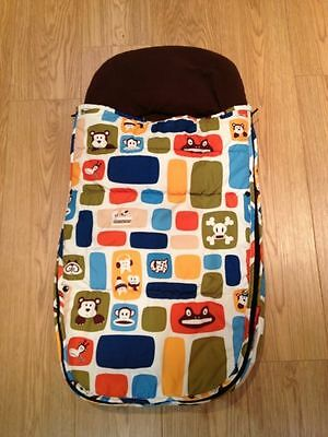 New ! paul frank limited edition color blocks footmuff sold out - VHTF