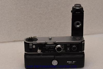 Nikon MD-2 Motor Drive with MB-1 battery pack GOOD CONDITION