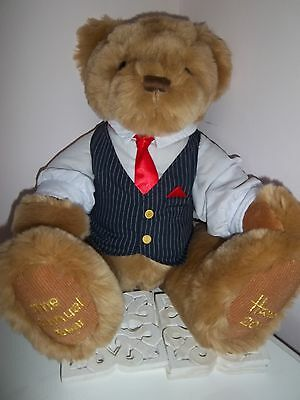 HARRODS FOOT DATED 2013 ANNUAL TEDDY BEAR CHARLES STEPHENS 4th BIRTHDAY GIFT