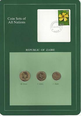 Coin Sets of All Nations, Zaire