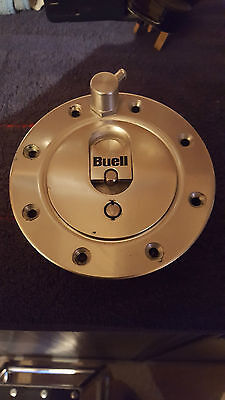 Buell X1 lightning petrol fuel gas cap with mounting bolts Genuine VGC 1999