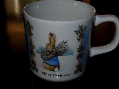 Peter Rabbit Wedgwood Merry Christmas Cup