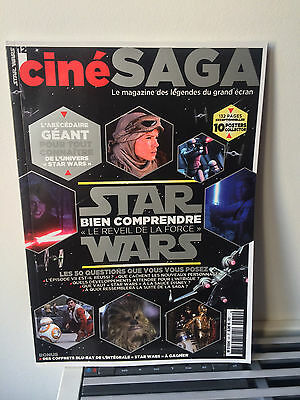 Magazine Star Wars le réveil de la force ciné saga the force awakens