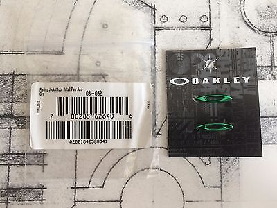 Authentic Oakley Racing Jacket Anodized Green Icons