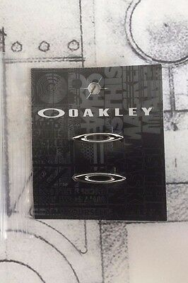 Authentic Oakley Racing Jacket Silver Icons