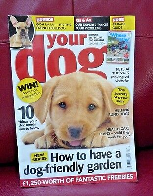 Your Dog Magazine - May 2015 edition - French Bulldog article ... and more