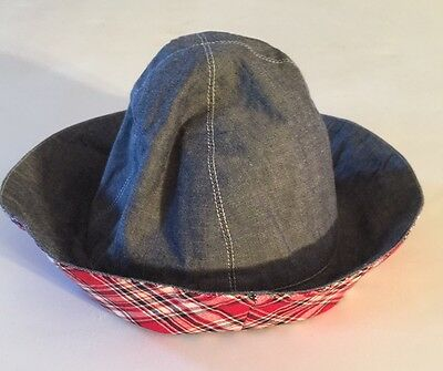 NEW Boy Girl's OLIVE JUICE Boutique CHAMBRAY BLUE Cotton Bucket Hat Cap S 2 3 4