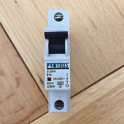 mcb proteus  b type  Voltage Rating 230, SINGLE 6,16,32,40