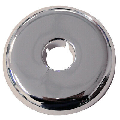 "Pack 6, Chrome Plated Plastic 6"" IPS Flexible Floor and Ceiling Plate ,PartNo F0"
