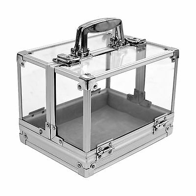 Trademark Poker Clear Acrylic Case Holds 6 Chip Trays Poker Chip Case Cle... New