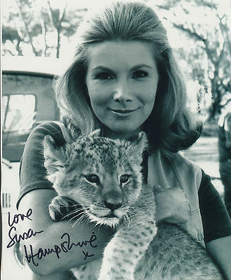 Susan Hampshire In Person Signed Photo - Living Free - AG234