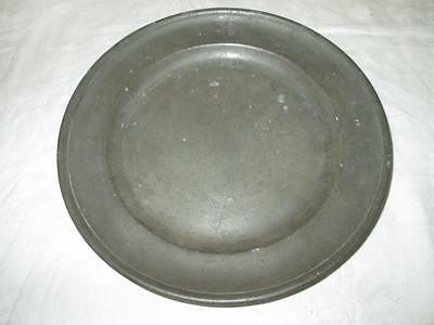 Antique 18th Century Belgian (Antwerp) Pewter Plate Maker HS