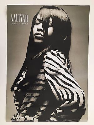 AALIYAH, AUTHENTIC 2000's  POSTER