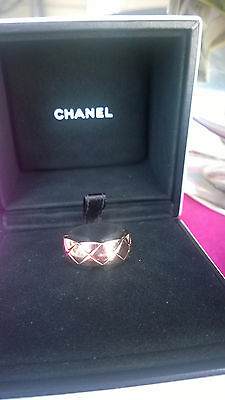 Chanel Crush Ring - Small 18K Chanel Beige - 5