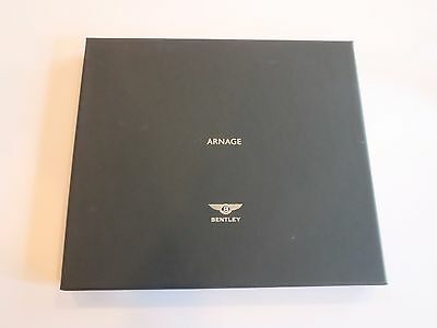 Bentley Arnage Official Green Brochure w/Box