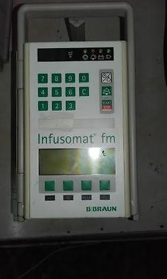 BRAUN infusomat FM  INFUSION PUMP GOOD CONDITON. WORKS without drip sensor