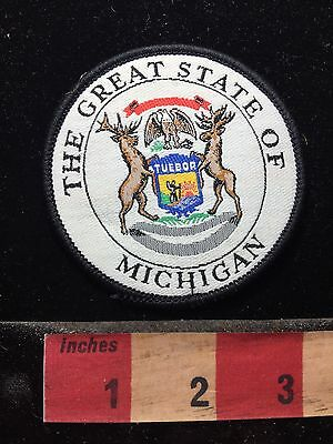 The GREAT STATE Of Michigan Patch 74WF
