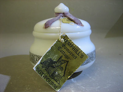 Somerset Cottage Pot-pourri lidded milk jar