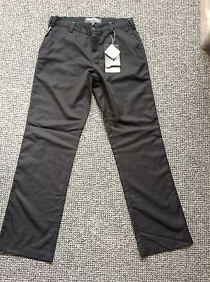 Women's Golf Trousers BNWT Black Tailored Teflon Size 8