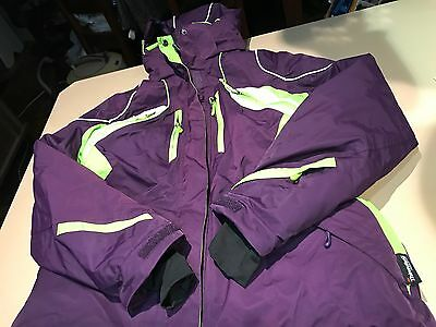 Rane Ladies Snow Jacket And Pants And Gloves Sz 16