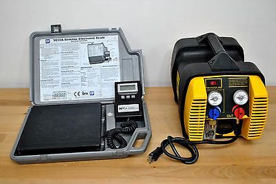 Appion G5 Twin Refrigerant Recovery Unit A/C Heat Pump HVAC w/ TIF Digital Scale
