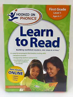 Hooked On Phonics Learn To Read 1st First Grade Level 1 New Sealed