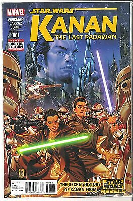 Star Wars:  The Last Padawan #1 first print marvel