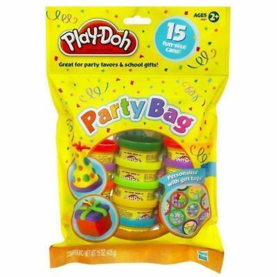 """""""New""""CLAY PLAY-DOH PARTY BAG 15 MINI CANS(EACH)-Free Shipping"""