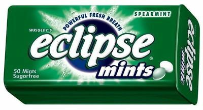 """New""CONF WRIGLEYS ECLIPSE MINTS SPEARMINT(BX16)-Free Shipping"