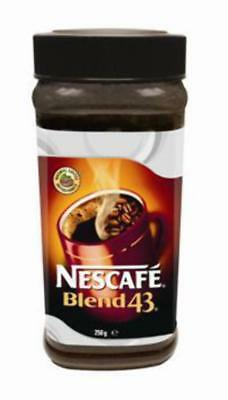 """New""COFFEE NESCAFE BLEND 43 JAR 250G(EACH)-Free Shipping"