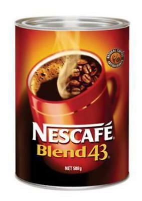 """New""COFFEE NESCAFE BLEND 43 CAN 500G(EACH)-Free Shipping"