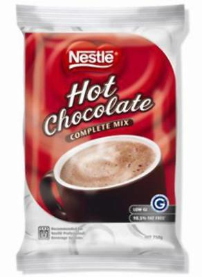 """New""HOT CHOCOLATE NESTLE COMPLETE MIX SOFT PACK 750G(EACH)-Free Shipping"