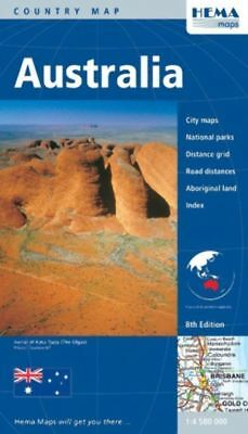 """New""MAP HEMA AUSTRALIA LARGE 11TH ED(EACH)-Free Shipping"