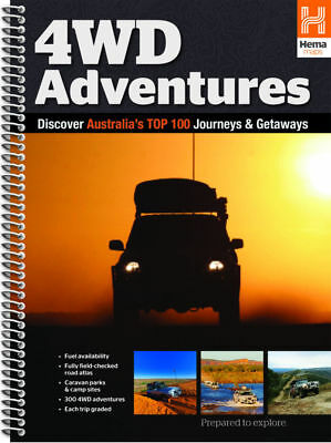 """New""BOOK HEMA 4WD ADVENTURES(EACH)-Free Shipping"