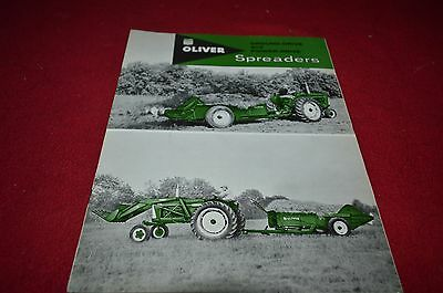 Oliver Tractor Ground Drive & Power Drive Spreaders Dealers Brochure DCPA8