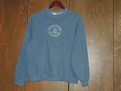 Vintage 80s Sweatshirt Heather Blue Lincoln Center 25th Anniversary New York