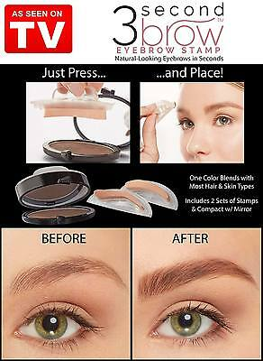 As Seen On Tv  3 Second Brow  Eyebrow Stamp  New  Fast Shipping   !!