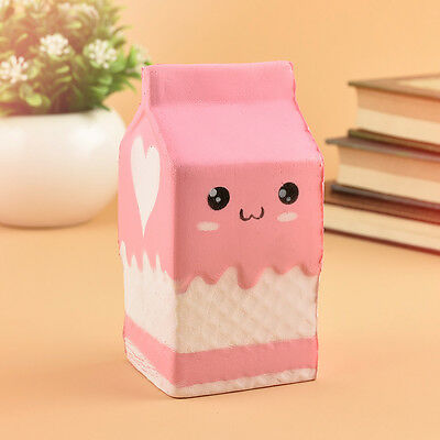 Colorful Slow Rising Squishy Milk Charm Phone Straps Kids Toy Reliever Bread New