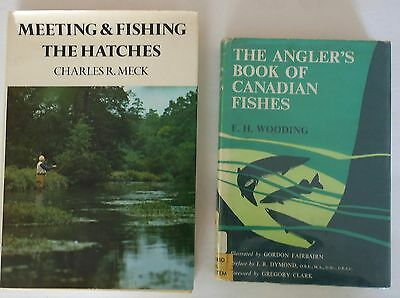 Vintage Fishing Books  The Hatches 1977 And Canadian Fishes 1959