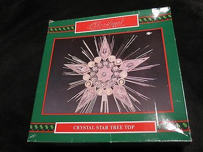 House Of Lloyd Christmas Around The World Crystal Star Tree 10 Lighted Topper