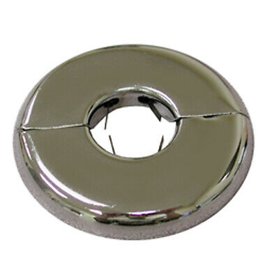 "Pack 6, Chrome Plated 2-1/2"" (2-5/8"" OD) CTS Floor and Ceiling Plate Heavy Gauge"