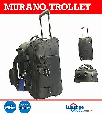 """Murano Travel Luggage Trolley 16"""" with 2 wheels"""