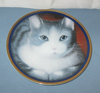 Special Gifts By Crowning Touch Porcelain Cat Feline 8 inch Plate