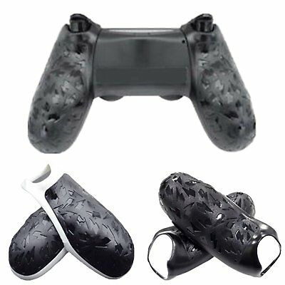 2pcs Replacement Skidproof Rear Handle Grip for Sony PS4 Controller Dualshock 4