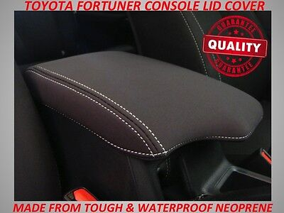 Neoprene Console Lid Cover Fits Toyota Fortuner  Oct  2015 - Current