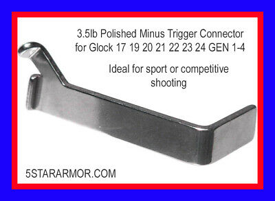 Lone Wolf - Ultimate 3.5lb Trigger Connector for all Glock models - Gen 1-4