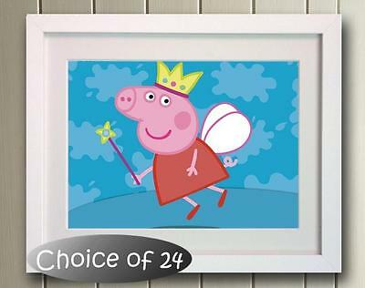Peppa Pig George Poster Picture Photo Decor Print wall art Nursery Gift Bedroom