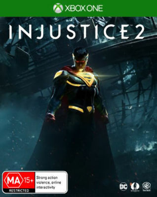 Injustice 2 with Darkseid DLC Xbox One Brand New *DISPATCHED FROM BRISBANE*