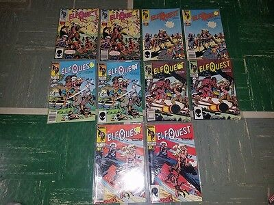 Marvel Elfquest 1 2 3 4 5 (Both Cover Variants For All 5)