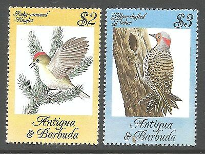 Antigua & Barbuda 1984 bird stamps, 2 mint high value stamps